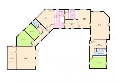 Rhyd y Fferm Floor-plan